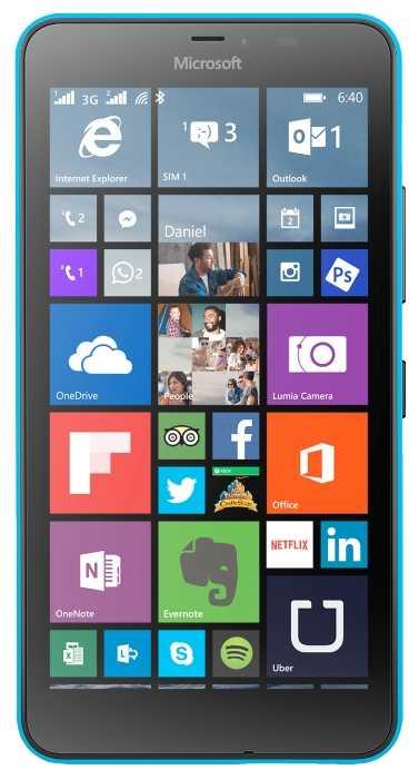 Ремонт Lumia 640 XL 3G Dual Sim Rm-1067